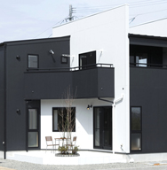 ~East view house~ 東を望む家
